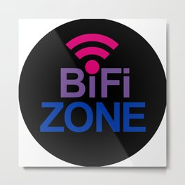 BiFi Zone Metal Print