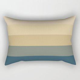 Neutral Stripes Rectangular Pillow