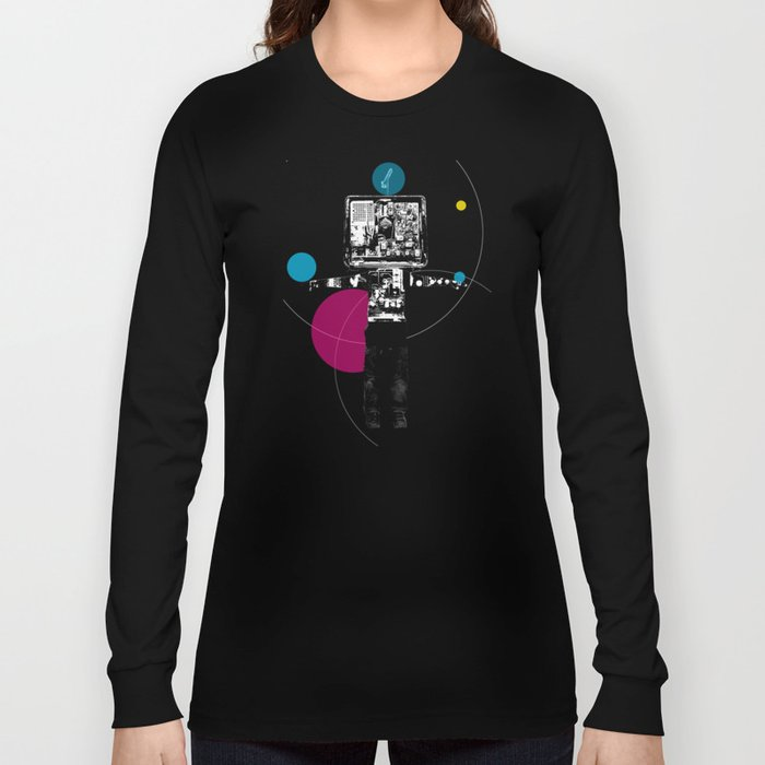 Electric Kid Collage Long Sleeve T-shirt