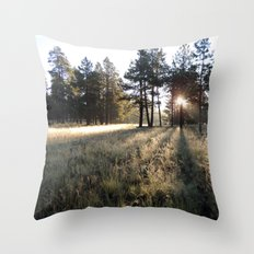 Listen to the Rain Throw Pillow