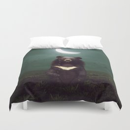 my light in the darkness Duvet Cover