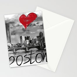 I love Boston Stationery Cards