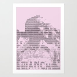 Giro Legends – Coppi. Giro Edition. Art Print