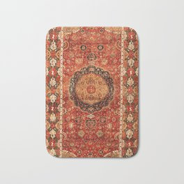 Seley 16th Century Antique Persian Carpet Print Bath Mat