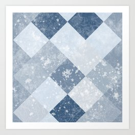 PACK ICE | BLUE FROST Art Print
