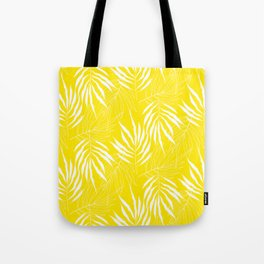 Ash Tree Leaves Scandianvian Pattern Tote Bag