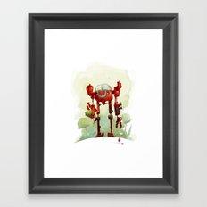 A friend Framed Art Print