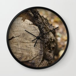 Details in the Forest Wall Clock