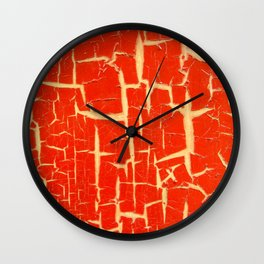 Chinese Paint Wall Clock