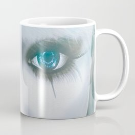 Harlequin Eyes Of A Different Color Coffee Mug