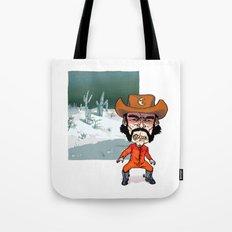 Night Cowboy Tote Bag