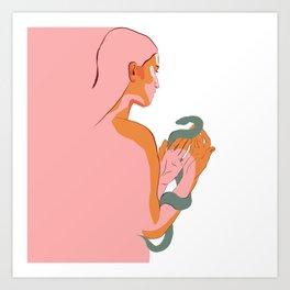 Like Silk Art Print