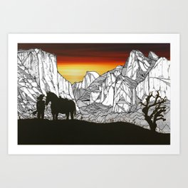It's A Wild West Out There Art Print