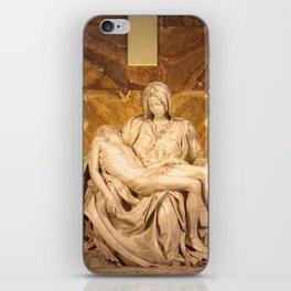 Michelangelo's Pieta iPhone Skin