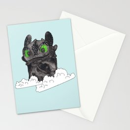 The Night Fury Stationery Cards