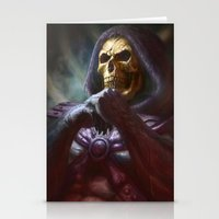 skeletor Stationery Cards featuring Skeletor by ImmarArt