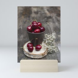 Cherries Mini Art Print