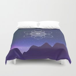 Cosmic Alignment  Duvet Cover