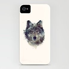 Wolf // Persevere  iPhone (4, 4s) Slim Case