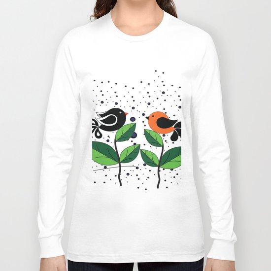 cute bird Long Sleeve T-shirt
