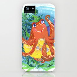 Hello world! iPhone Case