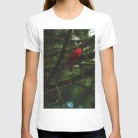 cardinal T-shirts featuring Cardinal by Tarraf Photography