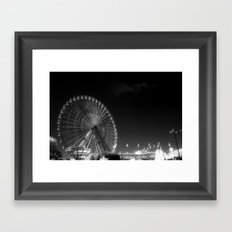 State Fair of Texas Ferris Wheel Framed Art Print