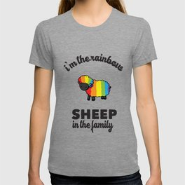 I'm the rainbow sheep in the family T-shirt