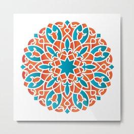 Modern Arabesque Metal Print