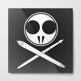 Withdrawn Logo Metal Print