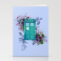 doctor who Stationery Cards featuring Doctor Who by Laain Studios