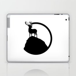 deer pose Laptop & iPad Skin
