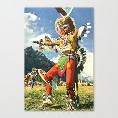 The Psychedelic Tribe Canvas Print