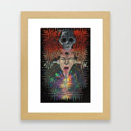 This is your brain on MONXX Framed Art Print