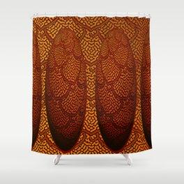 Cone lark ... Shower Curtain