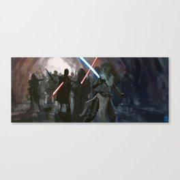 Last Stand of a Master Canvas Print