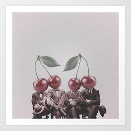 Cherry Mugshot Art Print