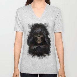 Face of Death Unisex V-Neck