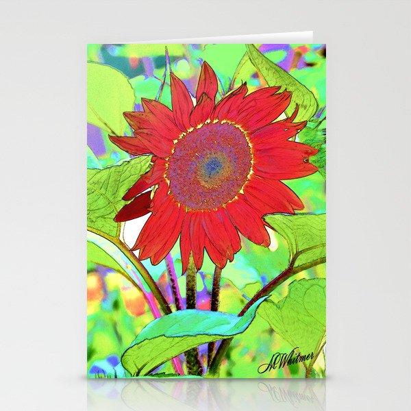 Sunflower Brillance Stationery Cards