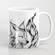 Fox B&W  Mug