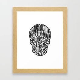 SKULLGRAM Framed Art Print