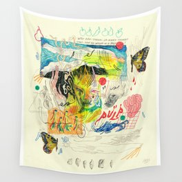 pulp Wall Tapestry
