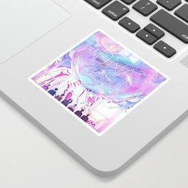 bts dna rainbow Sticker