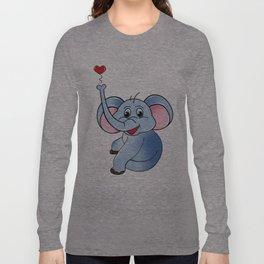 Loving Elephant Long Sleeve T-shirt