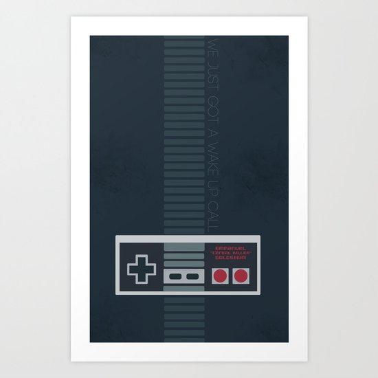 Hackers: Nintendo Generation Art Print