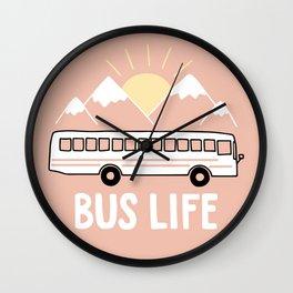 Bus Life Wall Clock