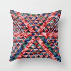 Colores Loco Throw Pillow