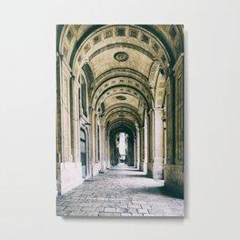 Arches in Valletta Malta Architecture  Metal Print