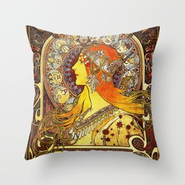 The Signs of the Zodiac Throw Pillow