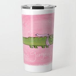 Gorgeous Alligator Travel Mug